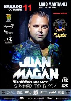 Juan Magan Visita Tenerife en Octubre 2014