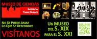 Cartel Museo