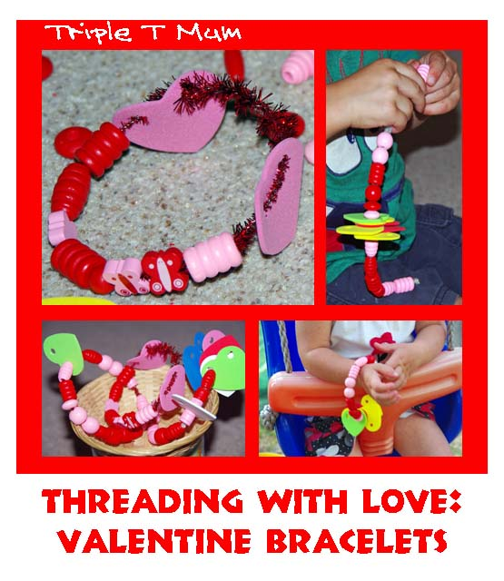 Valentine's Day Threading Craft