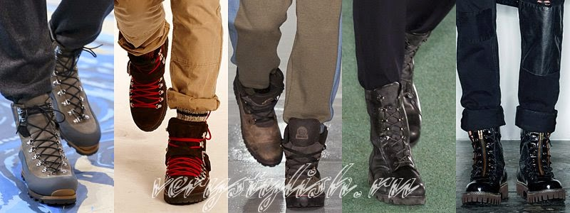 Winter 2015 Men's Shoes Fashion Trends