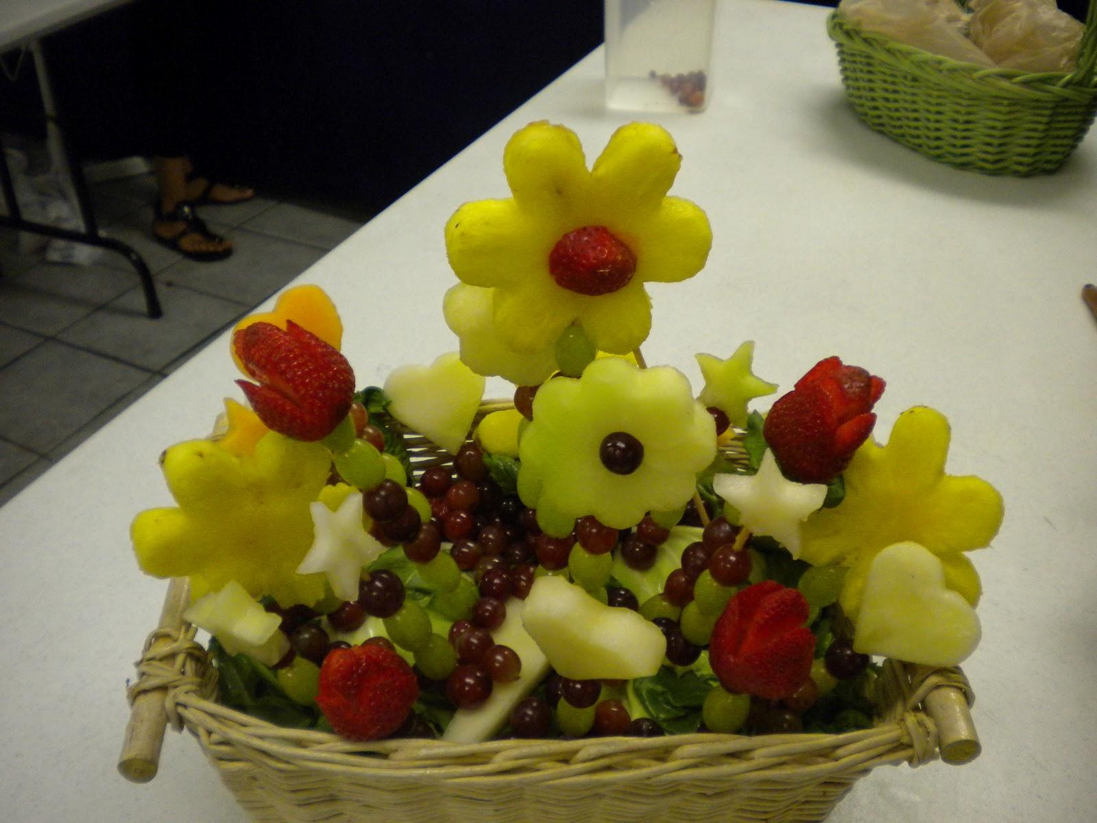 Canastas de frutas para baby shower arreglos con frutas - Decoracion de frutas ...