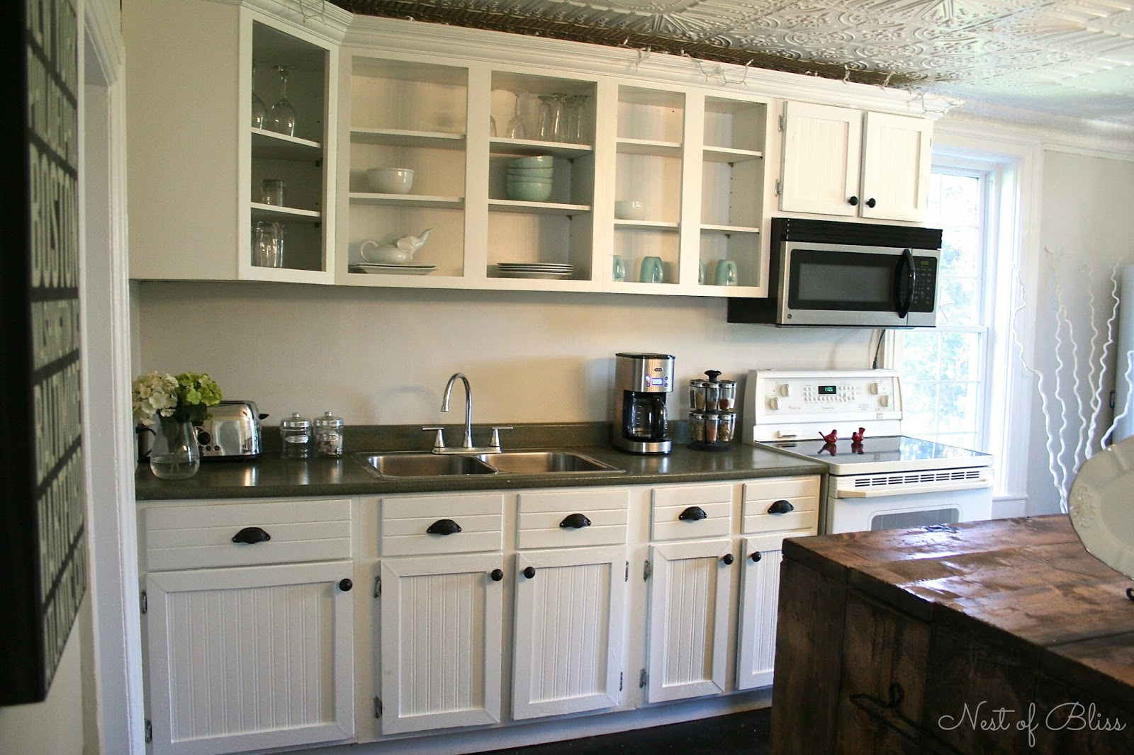Kitchen Makeovers On A Budget Before And After kitchen renovation makeover progress! before and after - nest of bliss