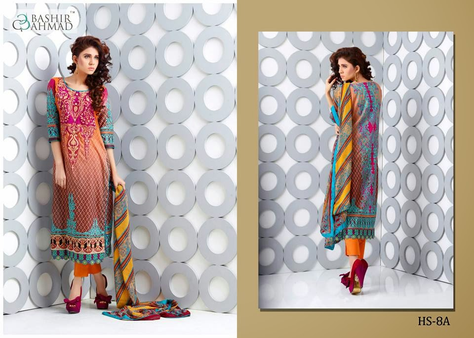 Lawn collection by Bashir ahmed
