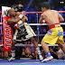 Picha 13 Kutoka Kwenye Pambano La Kati Ya Floyd Mayweather na Manny Pacquiao Ambapo Mayweather Ameibuka Mshindi.