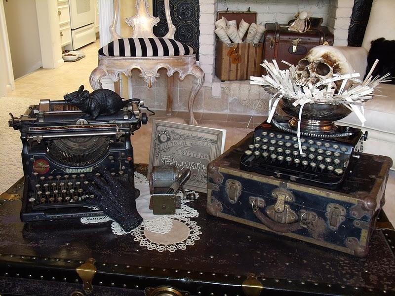 Steampunk Halloween Decorations | Pollyanna Reinvents Steampunk Industrial Chic And Halloween Decor