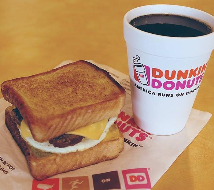 ... : Dunkin' Donuts - New Angus Steak Big N' Toasted Breakfast Sandwich