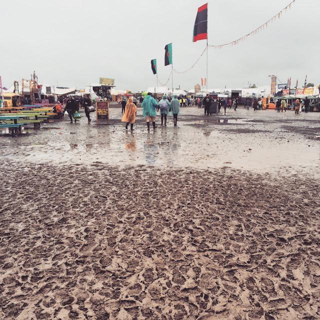 festival mud