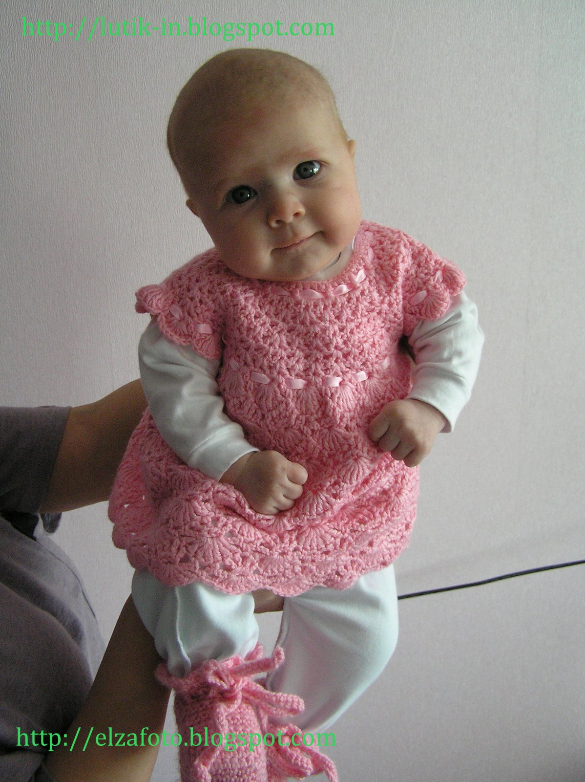 Вязание для девочек от 0 платья