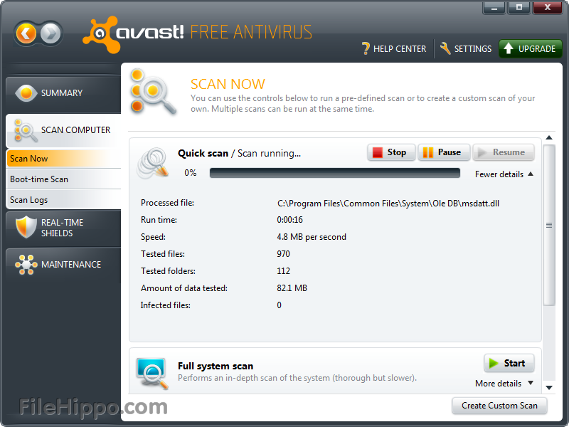 Avast Free Antivirus 6.0.1367 with license key until 2038