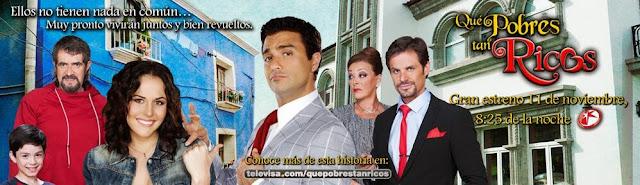 Qué Pobres Tan Ricos - Personajes | SECRET VIDA | 640 x 185 jpeg 65kB
