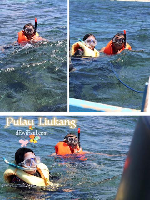 snorkling, Pulau Liukang