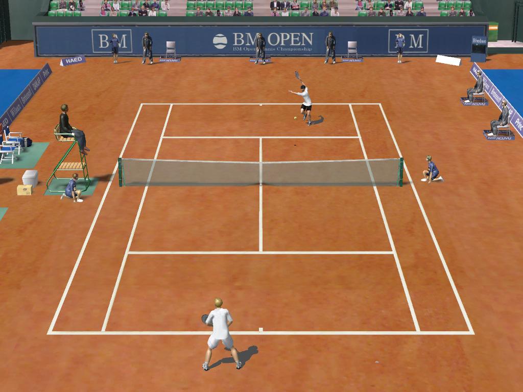 video de tenis: