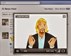facebook commercial video ads.