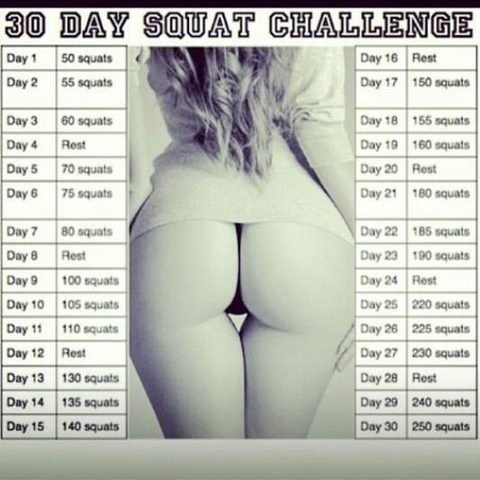 30 Day Squat Challenge Results http://confessions-ofa-fashionista.blogspot.co.uk/