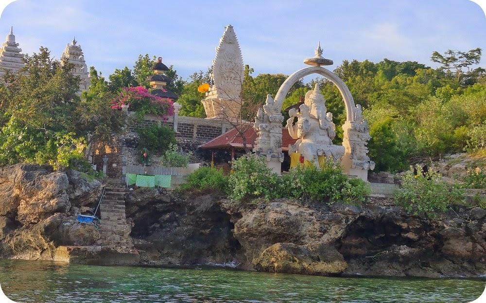 Patung Ganesha di Pulau Menjangan