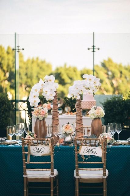 silla boda dorada