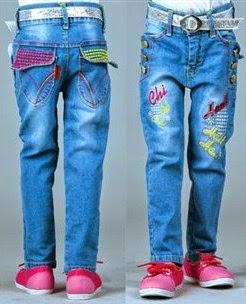 celana jeans anak