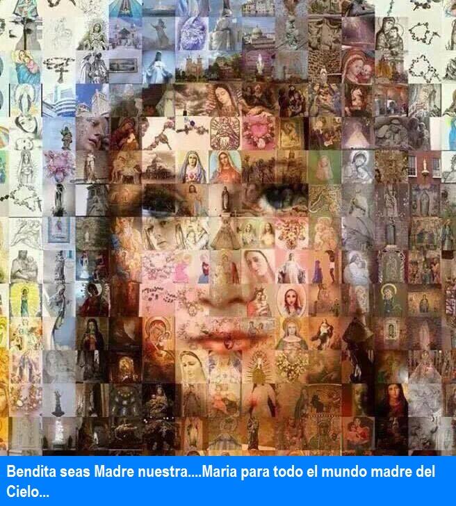 Bendita seas Madre María.