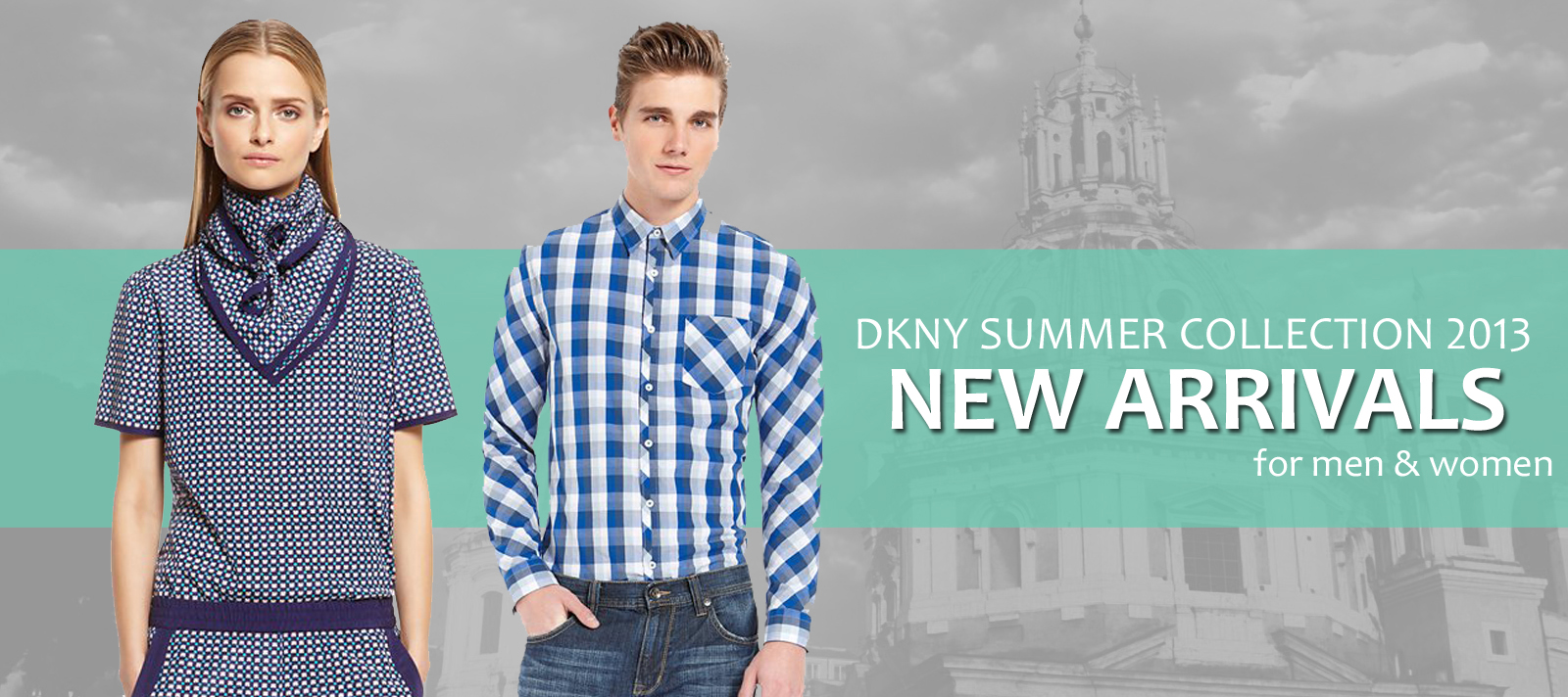 Dkny Summer Collection 2017 For Men And Women Casual Wear Dresses By