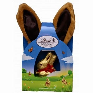 First two then blue easter gift guide the lindt gold bunny fluffy ears is a magical chocolate easter gift for any child and those young at heart you not only get a delicious 50g milk negle Choice Image