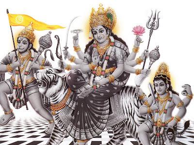 Durga Matha - Navratri 2012
