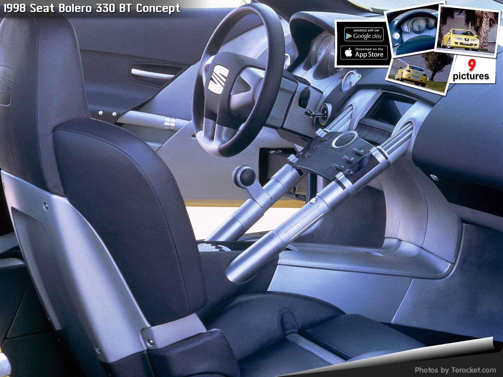 Hình ảnh xe ô tô Seat Bolero 330 BT Concept 1998 & nội ngoại thất