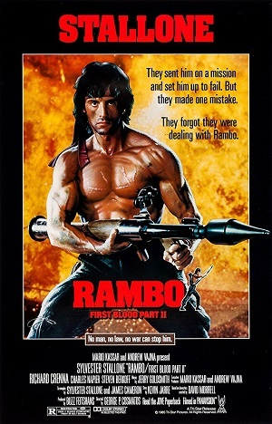 Rambo 2 - A Missão HD Filmes Torrent Download capa