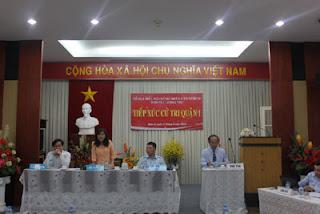 Đại biểu Đào Thị Hương Lan đại diện Tổ đại biểu Hội đồng nhân dân Thành phố