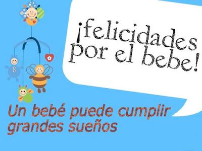 tarjetas de felicidades por el bebe