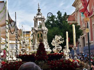 Corpus Christi Sevilla - Custodia chica