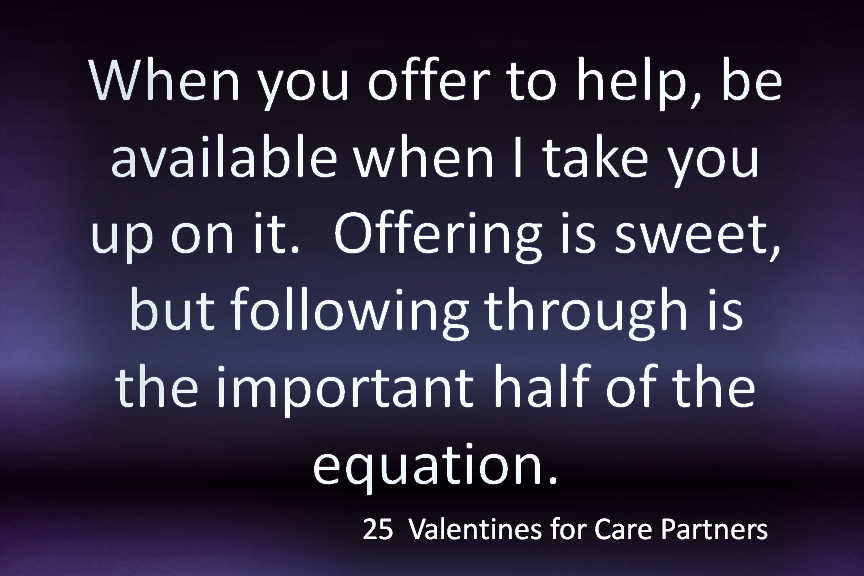 25 Valentines for Care Partners