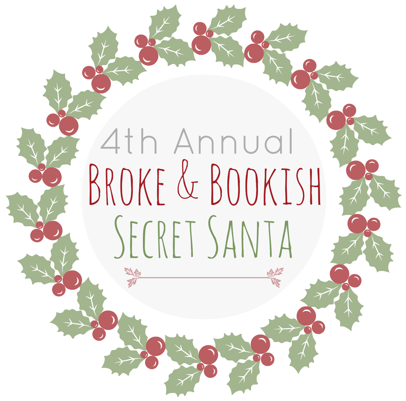 Want to be a Bookish Secret Santa?