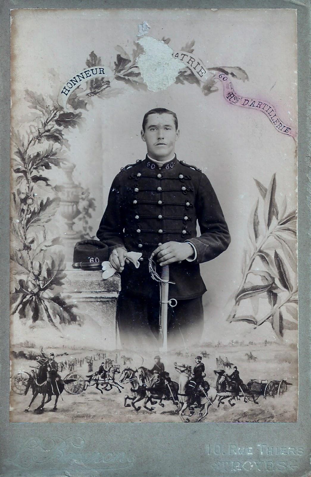 Eugène Préhau - Bataille de la Somme 1914-1915 Euge%25CC%2580ne+Pre%25CC%2581hau+service+militaire+1910+Troyes