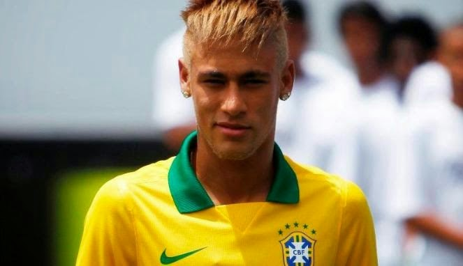 Gaya Rambut Neymar 2015