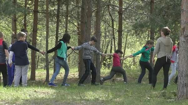 знакомства с территорией лагеря