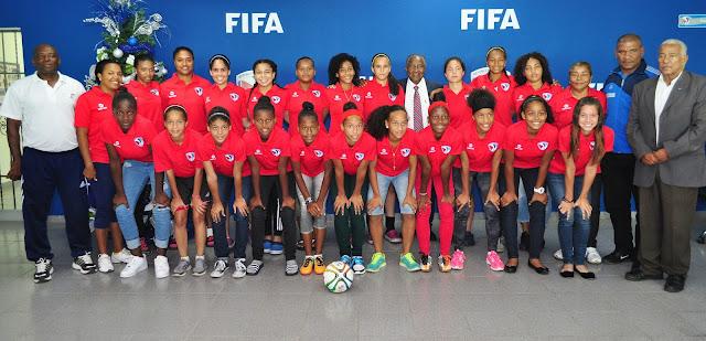 La sub-17 femenina, rumbo a PR para Copa Caribe