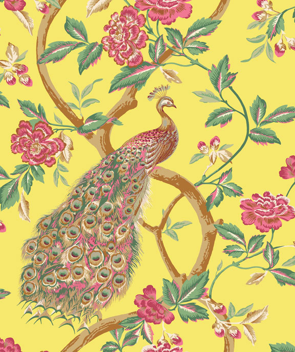 Chinoiserie Chic Wallpaper From Total Wallcovering
