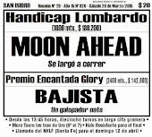 Todo A Ganador - 28/3 - Palermo Handicap Lombardo - MOON AHEAD eclipsa rivales
