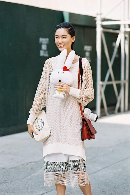 Frey K Chen jackman york fashion week ss 2015 bonnie manuela and alisa