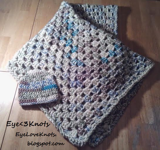 Free Crochet Patterns For Baby Hats And Blankets : EyeLoveKnots: Crochet Summery Granny Square Baby Blanket ...