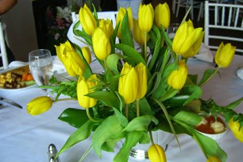 Centros de Mesa, Flores Naturales