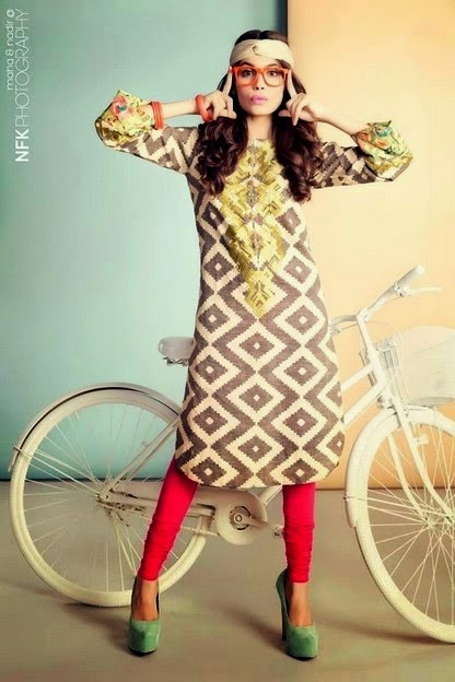 Summer Dresses Kurti with Tights
