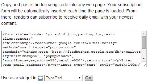 ma-code-email-feedburner