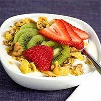 Мюсли с фруктами - полезный и вкусный завтрак
