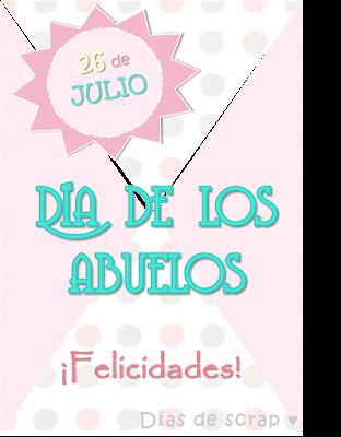 Freebies descargables cartel para el día de los abuelos