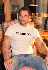 Look as sexy as Cyril Rovery in your own barihunk tee shirt