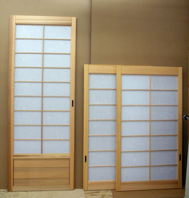 Shoji designs inc april 2013 for Pocket screens sliding doors