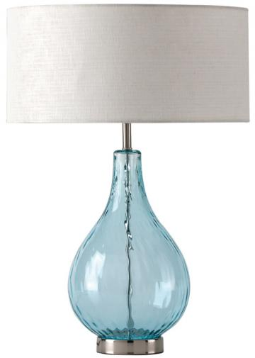 Beautiful Sea Glass Table Lamp U2013 Pure Home U2013 $190 // Aqua Interlace U2013 Lamps Plus U2013  $100 // Lucy Table Lamp U2013 Home Decorators Collection U2013 $189