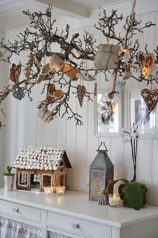 Decorazioni con le pigne per natale blossom zine blog - Finestre decorate per natale ...