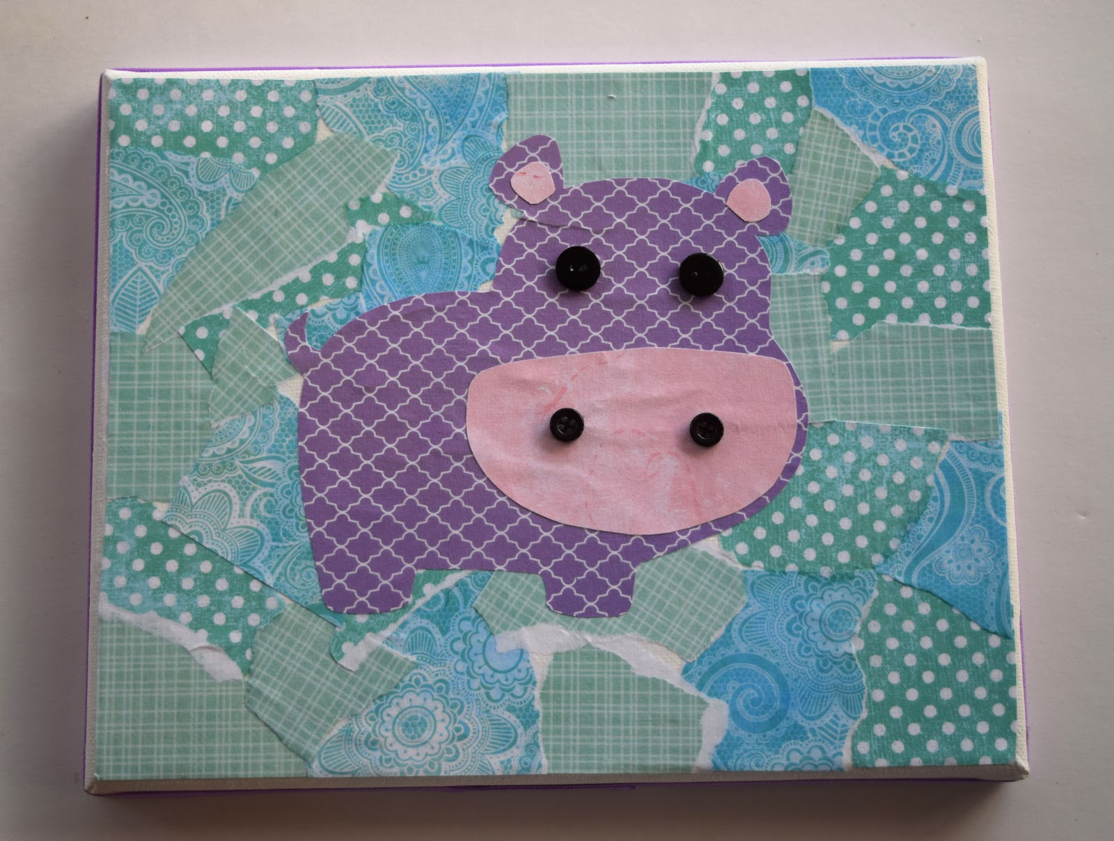 Scrapbook paper craft ideas - I Suppose It Would Work With A Single Piece Of Paper But It Definitely Would Not Be As Cute